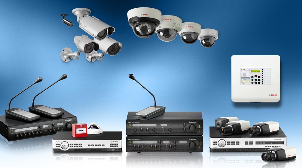 Son toda la gama de productos de emgafonia, seguridad e incendio de la firma Bosch