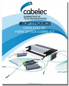 Catálogo de fibra optica - cobre - ICT septiembre 2015
