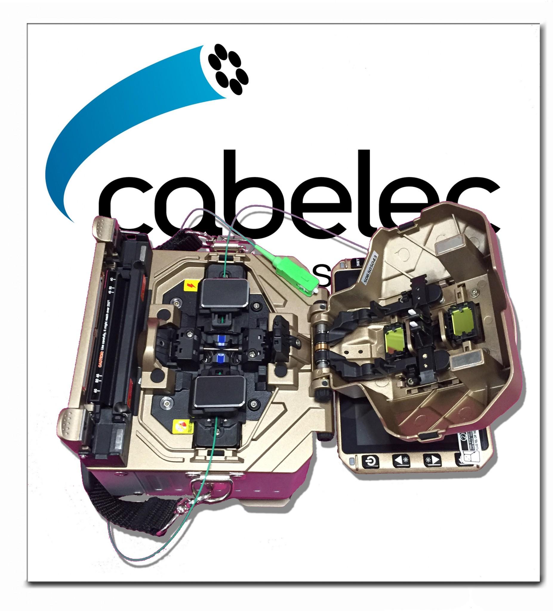 Mini fusionadora de fibra óptica Mini6S