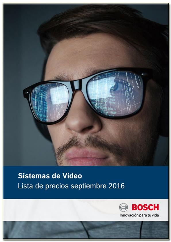 Tarifa - Catálogo Sistemas de Video Septiembre