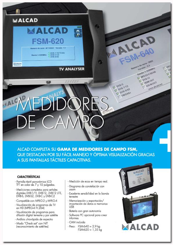 Medidores de Campo Alcad FSM-620 y FSM-640