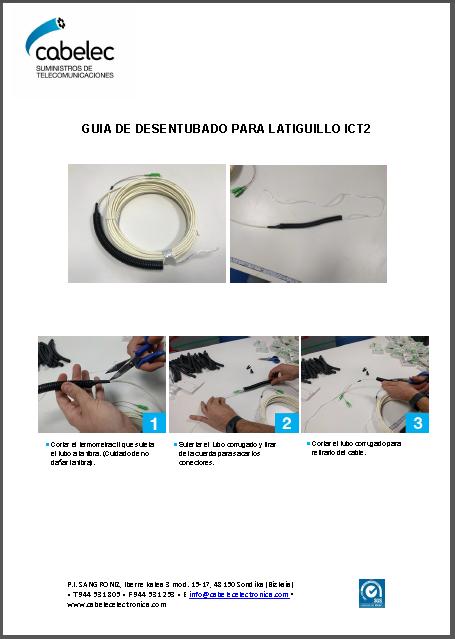 hoja_instalacion cable Pre-terminado multifibra